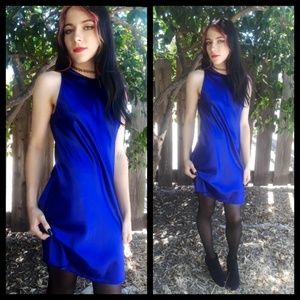 Stunning vtg 80s All That Jazz mini dress!